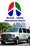 Navette aéroport de Newark en mini van