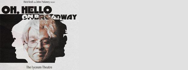 Oh, Hello går på Broadway och är en tvåmanna tour-de-force skrattföreställning som firar de två banbrytande komikerna Nick Kroll och John Mulaney. Boka dina biljetter här!