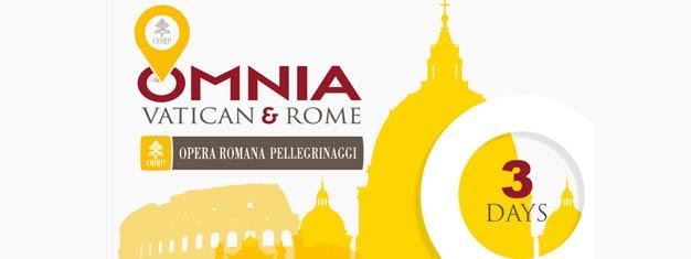 バチカンとローマのカードを使用すると、バチカン市国、30以上の観光スポット、ローマの無料送迎とはるかに割引への無料アクセスを取得します。今あなたを入手!