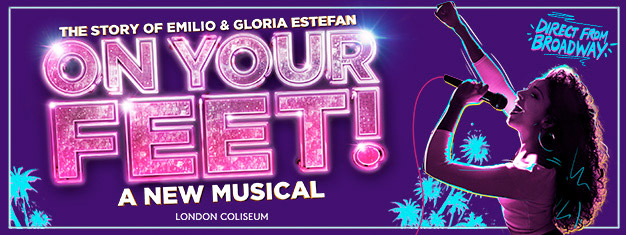 Se On Your Feet! i London! Gloria och Emilio Estafans succémusikal från Broadway spelar i London under en mycket begränsad spelperiod. Boka biljetter här!