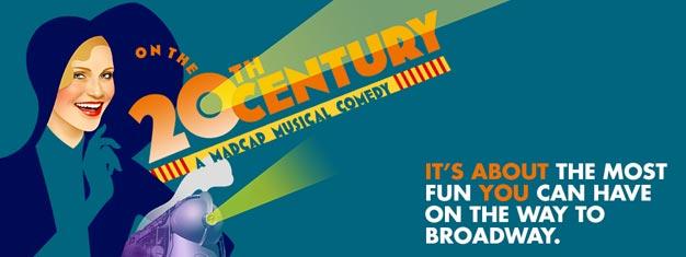 Kristin Chenoweth og Peter Gallagher vender tilbage til Broadway i New York i denne morsomme og nye version af musicalen ON THE TWENTIETH CENTURY. Bestil billetter her!