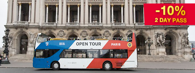 Explore Paris with Hop-On Hop-Off bus tickets - the easiest and most flexible way to go sightseeing in Paris! 4 bus lines and over 50 stops. Book online!