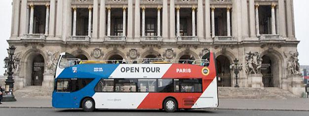 Utforsk Paris med Hop-On Hop-Off bussbilletter - den enkleste og mest fleksible måten å dra på sightseeing i Paris! 4 busslinjer og over 50 stopp. Bestill på nettet!