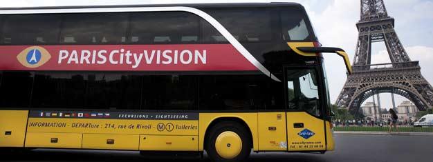 """Objednejte si lístky na okružní jízdu """"Paris Express"""" od Paris Vision v Paříži. Prohlédněte si celou Paříž chytře a jednoduše!"""