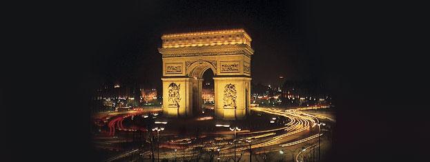Erleben Sie Paris bei Nacht! Inkl. Besuch des Eiffelturms ohne Anstehen, malerische Schifffahrt auf der Seine und Stadtrundfahrt per Bus. Online buchen!