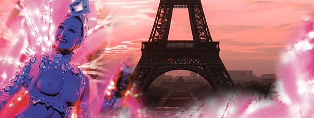 Osta liput tähän Pariisin matkasi huipennuksen etukäteen! Illallisristeily Seinellä, Eiffel-torni ja kabaree Moulin Rougessa. Osta netistä!