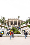 Parc Güell de Gaudi - billets coupe-files