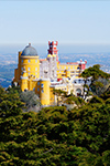 The Park and Pena Palace in Sintra