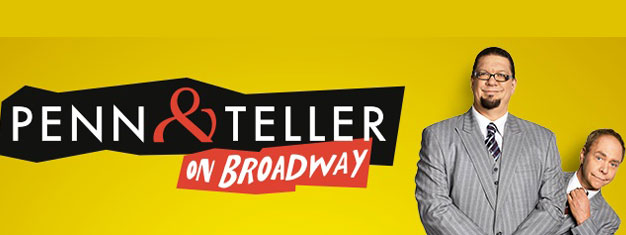 Penn & Teller On Broadway will be a rare opportunity for New Yorkers and tourists to see Penn & Teller here; they will immediately return to their record-breaking Las Vegas run at The Rio at the end of the Broadway engagement.