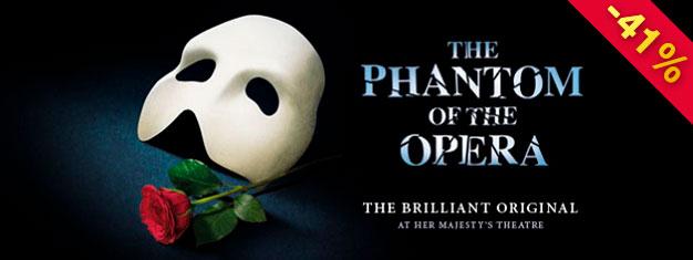 アンドリュー・ロイド・ウェバーの「オペラ座の怪人」はミュージカルの中のミュージカルであり、ロンドンのおすすめです。25 年以上演じられてきました。オンラインでご予約ください!