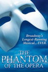 のチケット The Phantom of the Opera