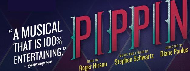 Biljetter till musikalen Pippin på Broadway i New York! Se den Tony Award belönade medeltida pop musikalen i New York! Boka biljett till Pippin på Broadway här!