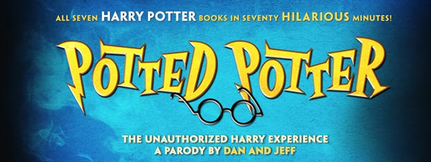 Potted Potter on Broadway in New York is a very funny comedy based on all 7 Harry Potter books. Book your tickets for Potted Potter on Broadway in New York here!