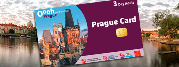 Kaufen Sie den ultimativen Sightseeing Pass - Die Prag Karte! Top Attraktionen, eine gratis 2-stündige Busfahrt und unbegrenzter Transport im Nahverkehr!