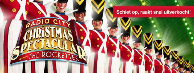 Misde traditionele en indrukwekkende Radio City Christmas Spectacularniet! Het verblindtpubliek van alle leeftijden! Boek uw tickets here!