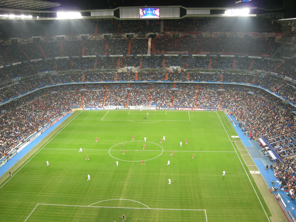 Stadio Santiago Bernabeu. MadridCalcio.it