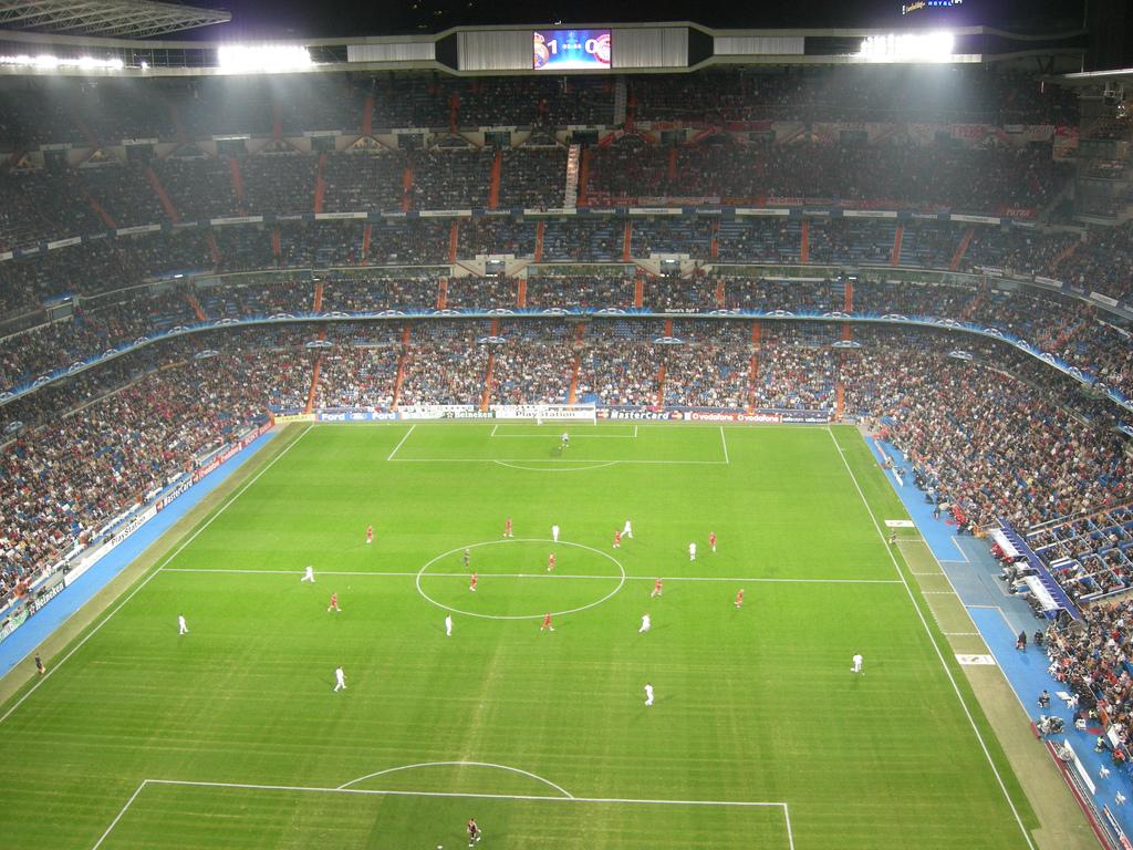 Santiago Bernabeu. MadridFotboll.se