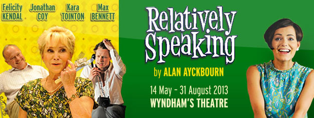 Relatively Speaking in London is a funny and warm comedy. You can book your tickets for Relatively Speaking in London right here!