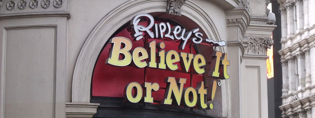 Visit Ripley's Believe It or Not! in London. Try the mirror maze, the LaseRace and experience an unbelievable world of fun end excitement. Book online!