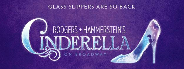 Rodgers und Hammersteins Cinderella das Musical am Broadway in New York basiert auf dem klassischen Märchen. Karten für Cinderella am Broadway in New York hier.