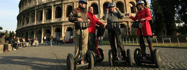 Ontdek Rome per segway! Een segway tour is de ideale sightseeing tour voor families met tieners, koppels en individuen. Boek uw tickets online!
