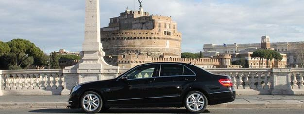 Easy, convenient & cost-effective airport transfer from Fiumicino Airport to your hotel in Rome. Pick-up 24 hours a day, 7 days a week. Book online!