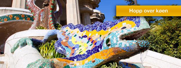 Slipp køen til Park Güell med guiden din! Nyt en spasertur i den fantastiske parken av Antoni Gaude. Bestill billetter her!