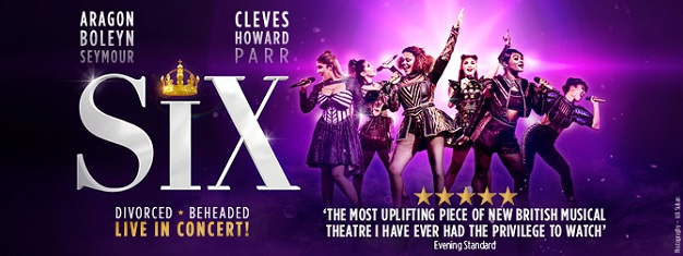 SIX, 'the most uplifting piece of new British musical theatre' is the phenomenon everyone is losing their head over! Get your  tickets here!