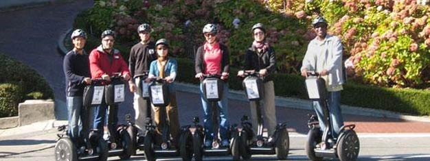 See and hear about San Francisco from a Segway is not only fun but you will learn a lot to! Book your tickets for San Francisco Segway Tours here!