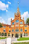 Ziekenhuis Art Nouveau de Sant Pau: zonder wachtrij