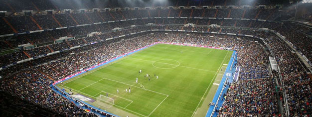 Bernabéu, Real Madrid's Stadium is really impressive with room for more than 80.000 fans. Tickets for tour of Bernabéu only can be booked here!