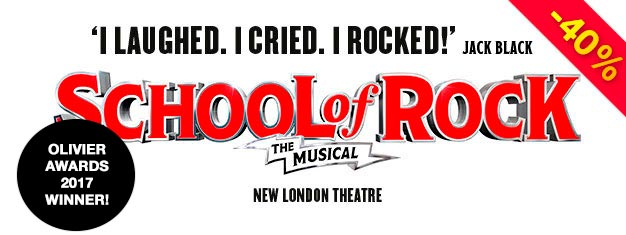 Follow Dewey Finn and his class of guitar-shredding, mind-blowing student rockers in Andrew Lloyd Webber's joyful hit School of Rock.  Book your tickets today!