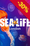 Sea Life Aquarium di Londra