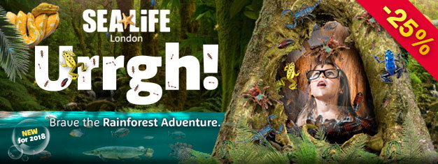 Book tickets to Sea Life London Aquarium and discover over 500 species. Tickets to Sea Life London Aquarium can be booked here!