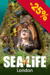 SEA LIFE London Aquarium: Flexibles Ticket