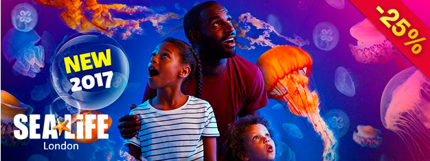 Sea Life London Aquarium houses one of Europe's largest collections of marine life. Experience over 500 species and plants and over 40 different kinds of sharks. Book online!