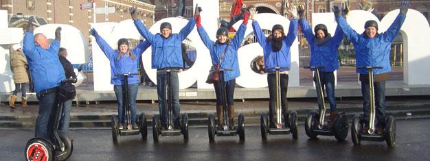 Segway City Tours er en morsom og interessant måte å utforske Amsterdam på. Bestill dine billetter her!