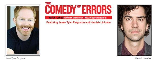 Nyd Shakespeares Comedy of Errors i Central Park i New York City. Bestil dine billetter til Shakespeares Comedy of Errors i New York her!