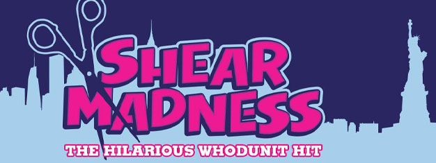 Shear Madness, America's longest running comedy, finally comes to New York! Book your tickets to Shear Madness in New York City here!