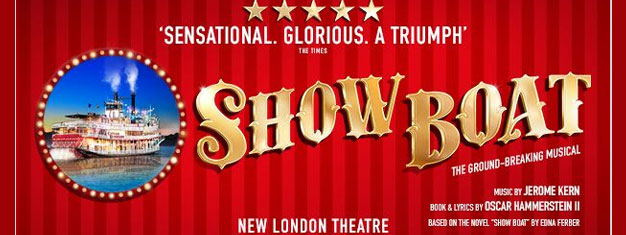 Enjoy the classic musical Show Boat in London's West End. Show Boat tells a powerful story of freedom, loyalty and above all, love. Book online!