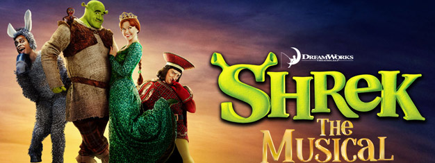 Se Shrek - the Musical på Royal Drury Theatre i London. Köp dina biljetter till Shrek the Musical i London online här!