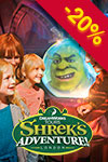 Tickets to Shrek's Adventure! London