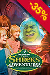 Shrek's Adventure! Lontoo: flexi-lippu