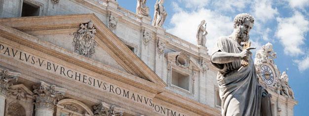 Hopp over køen tilVatikanet & Colosseum! Spar tid og penger! Bestill dineSkip the Line Vatican & Colosseum billetter sammen og spar 5 %. Bestill på nett!
