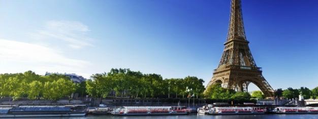 Salta las filas a la Torre Eiffel y disfruta un crucero de una hora por el Sena!  Reserva tus entradas sin fila y ahorra tiempo. Reserva ya!