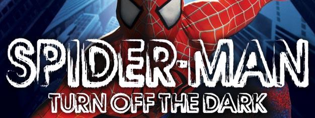 Billets pour Spider-Man sur Broadway à New York ici. Venez voir l'incroyable histoire  en tant que comédie musicale sur un garçon doté de super pouvoirs d'araignée !