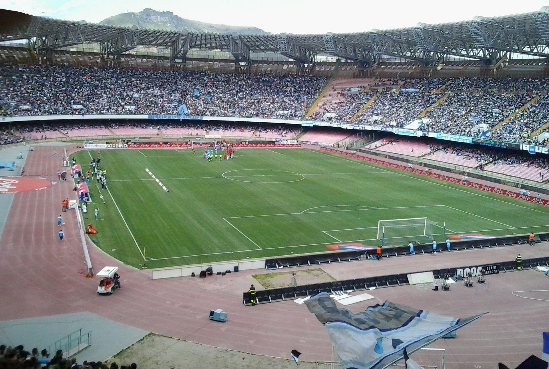 Stadio San Paolo. ItalienFotboll.se