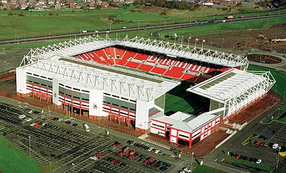 Arène/Stade Britannia Stadium. ManchesterLiverpool.fr