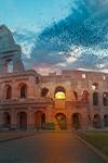Sunrise at the Colosseum: Instagrammer Heaven