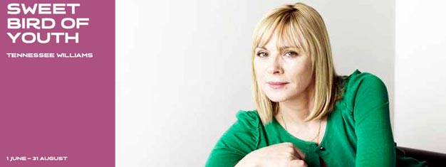Tennessee Williams's Sweet Bird of Youth i London med Kim Cattrall i hovedtollen. Billetter til Sweet Bird of Youth i London kan bestilles her!